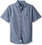 U.S. Polo Assn. Men's Striped, Plaid Or Print Single Pocket Slim Fit Sport Shirt
