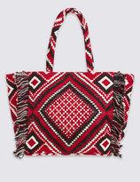 Marks and Spencer Aztec Shopper Bag