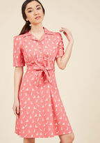 ModCloth Vogue View Shirt Dress in 20 (UK)