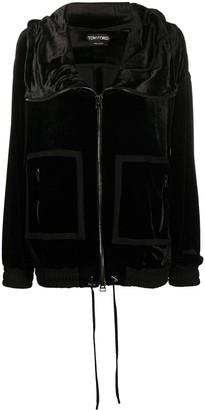 Tom Ford Oversized Zip-Up Jacket