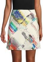 Robert Graham Women's Rachael Printed Mini Skirt