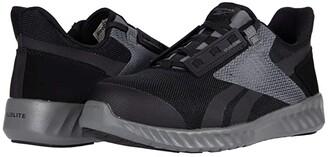 Reebok Work Sublite Legend Comp Toe (Black/Grey) Men's Shoes