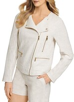Thumbnail for your product : DKNY Weave Moto Jacket