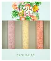 Superdrug Paradise Tropical Fruits Bath Salts 3 Pack