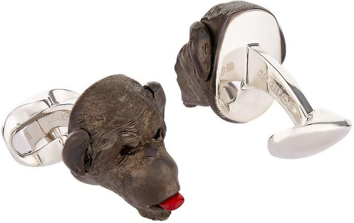 Deakin & Francis Monkey Poking Tongue Cufflinks
