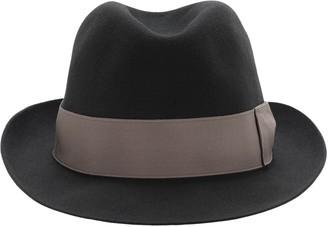 Borsalino Alessandria Felt Hat W/ Satin Hatband