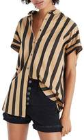 Madewell Central Edna Stripe Shirt