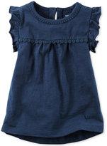 Carter's Flutter Cotton Shirt, Toddler Girls (2T-4T)