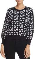 Parker Beven Sparkle Star-Pattern Sweater