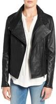 Sam Edelman Women's Leather Moto Jacket