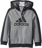adidas Kids Baby Boy's Athletic's Jacket (Toddler/Little Kids)