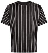 3.1 Phillip Lim Short-sleeved Striped Sweatshirt