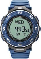 Timberland Men's Mendon Blue Polyurethane Strap Watch 52mm TBL15027XPBBU04P