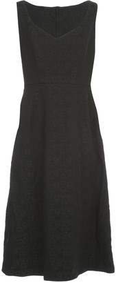 Comme des Garcons Sleeveless Midi Dress
