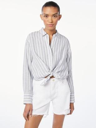Frame Tie Up Shirt