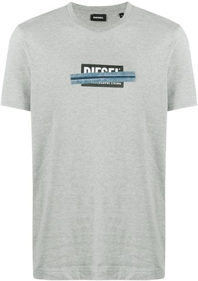 Diesel Logo-Print Jersey T-Shirt