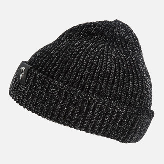 Karl Lagerfeld Paris Women's K/Ikonik 3D Pin Metallic Beanie - Black
