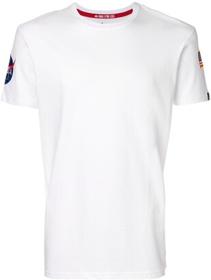 Alpha Industries flag patch T-shirt