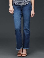 Gap STRETCH 1969 frayed summer flare jeans
