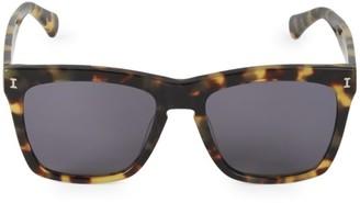 Illesteva 55MM Los Feliz Tortoise Square Sunglasses