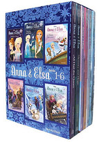 Disney Anna & Elsa: Books 1-6 Boxed Set