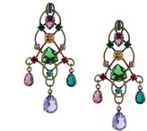 Lanvin crystal drop earrings