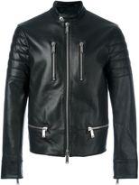 DSQUARED2 zip detail biker jacket