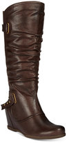 Bare Traps Quivina Hidden-Wedge Boots