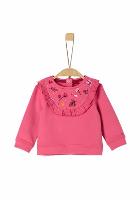 S'Oliver Baby Girls' 65.909.41.2759 Sweatshirt