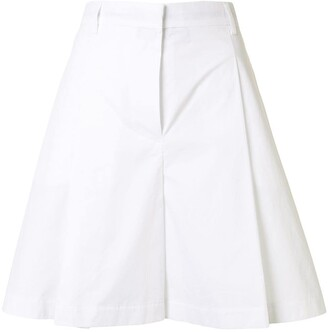 MAISON KITSUNÉ A-line pleated skirt