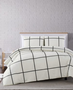 Truly Soft Kurt Windowpane 3-Pc. Full/Queen Comforter Set Bedding