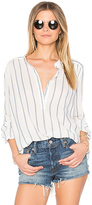 Joe's Jeans Sophie Blouse in Blue. - size L (also in M)