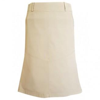 Patrizia Pepe Beige Cotton - elasthane Skirt for Women