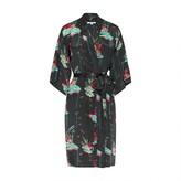 Genevie Lily Night Silk Kimono