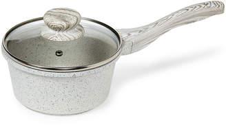 Country Kitchen 1.5-Quart White Wash Sauce Pan