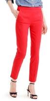 J.Crew Petite Women's 'Martie' Bi-Stretch Cotton Blend Pants