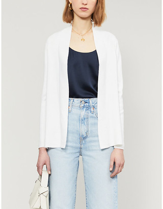 Ted Baker Woodland stretch-knit and crepe cardigan