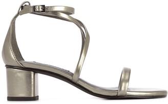 Senso block-heel open toe sandals