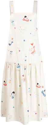 Chinti and Parker Nautical Sun Dress