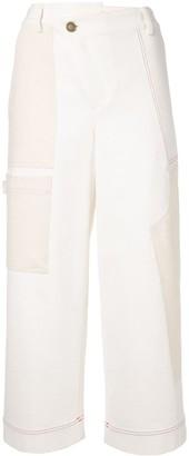 Monse Wide-Leg Cargo Trousers
