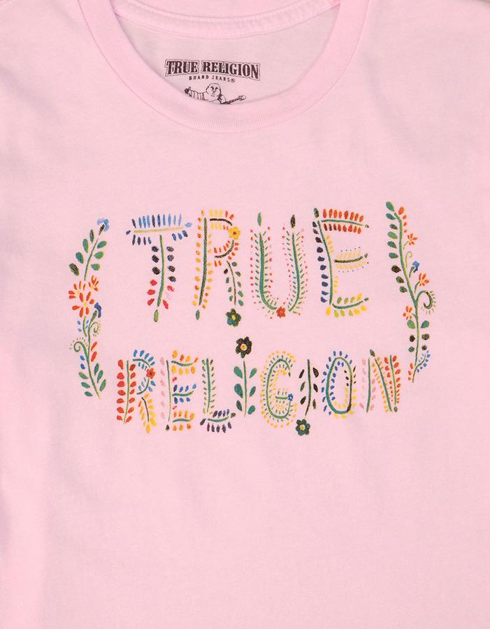 True Religion Girls True Floral Graphic Tee