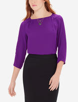 The Limited Boatneck Top