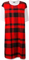 Sofie D'hoore checked T-shirt dress - women - Cotton - 36