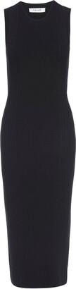Frame Sleeveless Cutout Sweater Dress
