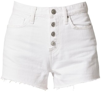 Hudson Cara Classic Cut-Off Denim Shorts