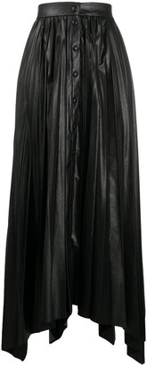 Isabel Marant High-Waisted Pleated Skirt