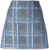 Versace jacquard fil coupé skirt