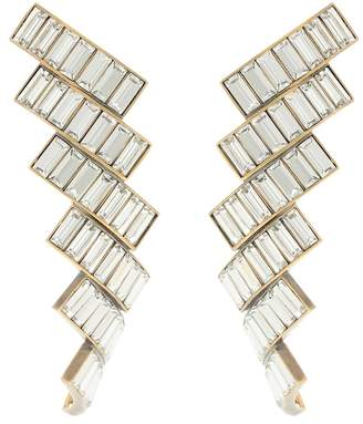 Balenciaga Evening crystal-embellished earrings