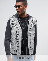 Reclaimed Vintage Embroidered Waistcoat
