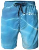 FayBrook Men's Mountains Calling Board Shorts Swim Trunks